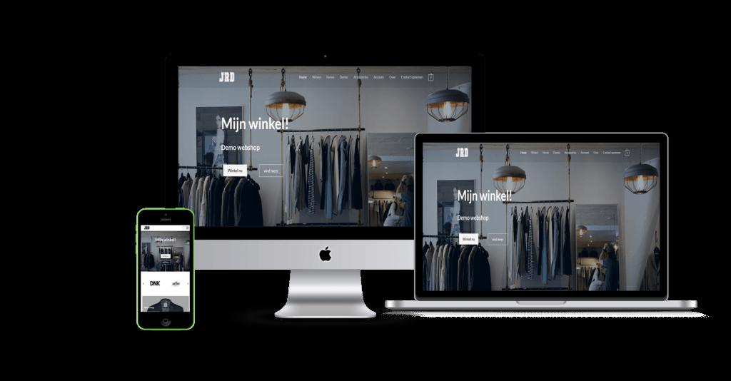 webshop webwinkel voorbeeld